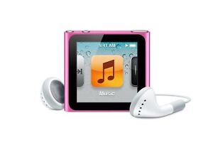 Apple iPod nano 6th Generation Pink (16 ...