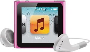 Apple iPod nano 6th Generation Pink (8 G...