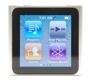 Apple iPod nano 6th Generation Silver (8...