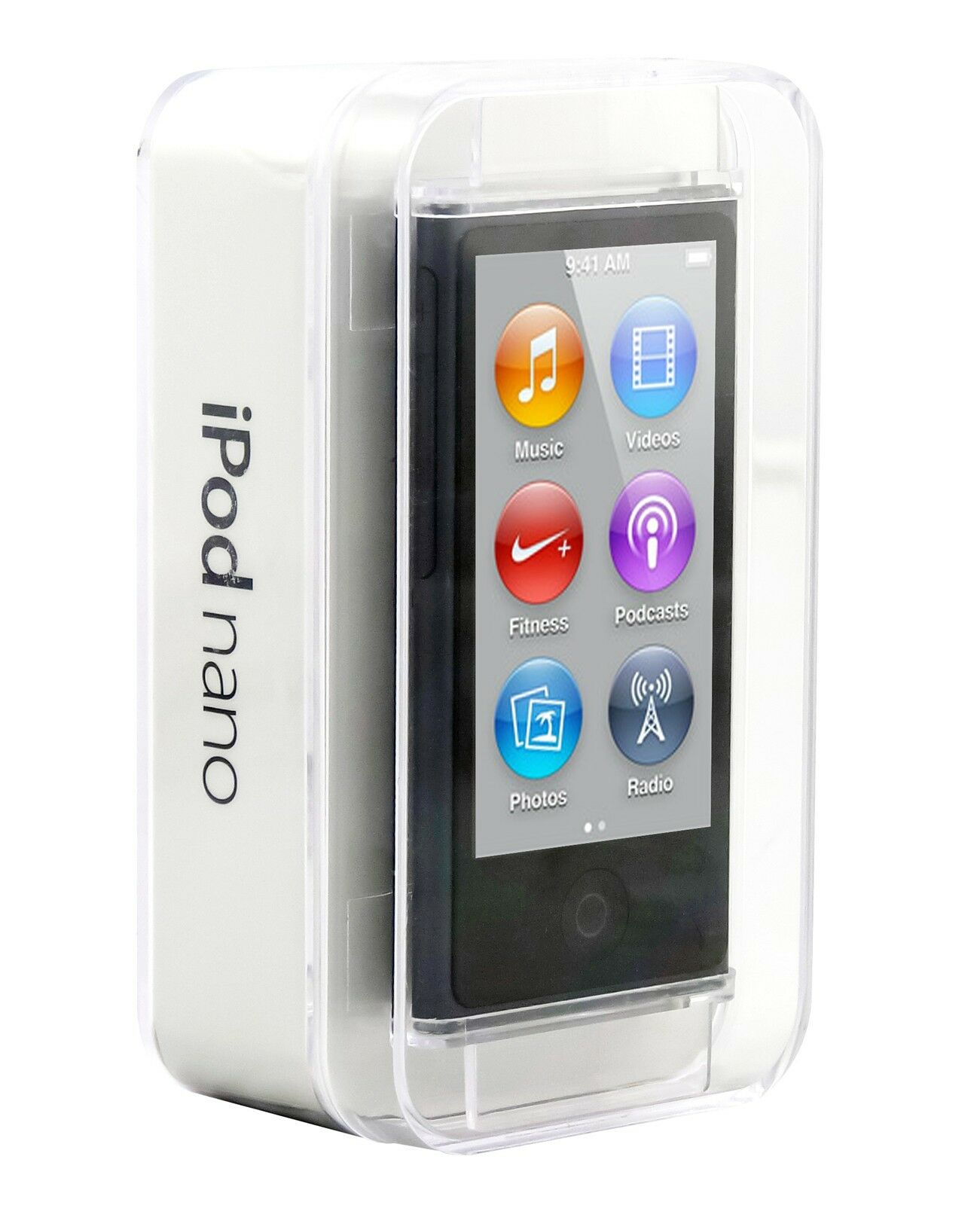 apple ipod nano 7th generation slate 16 gb latest model. Black Bedroom Furniture Sets. Home Design Ideas