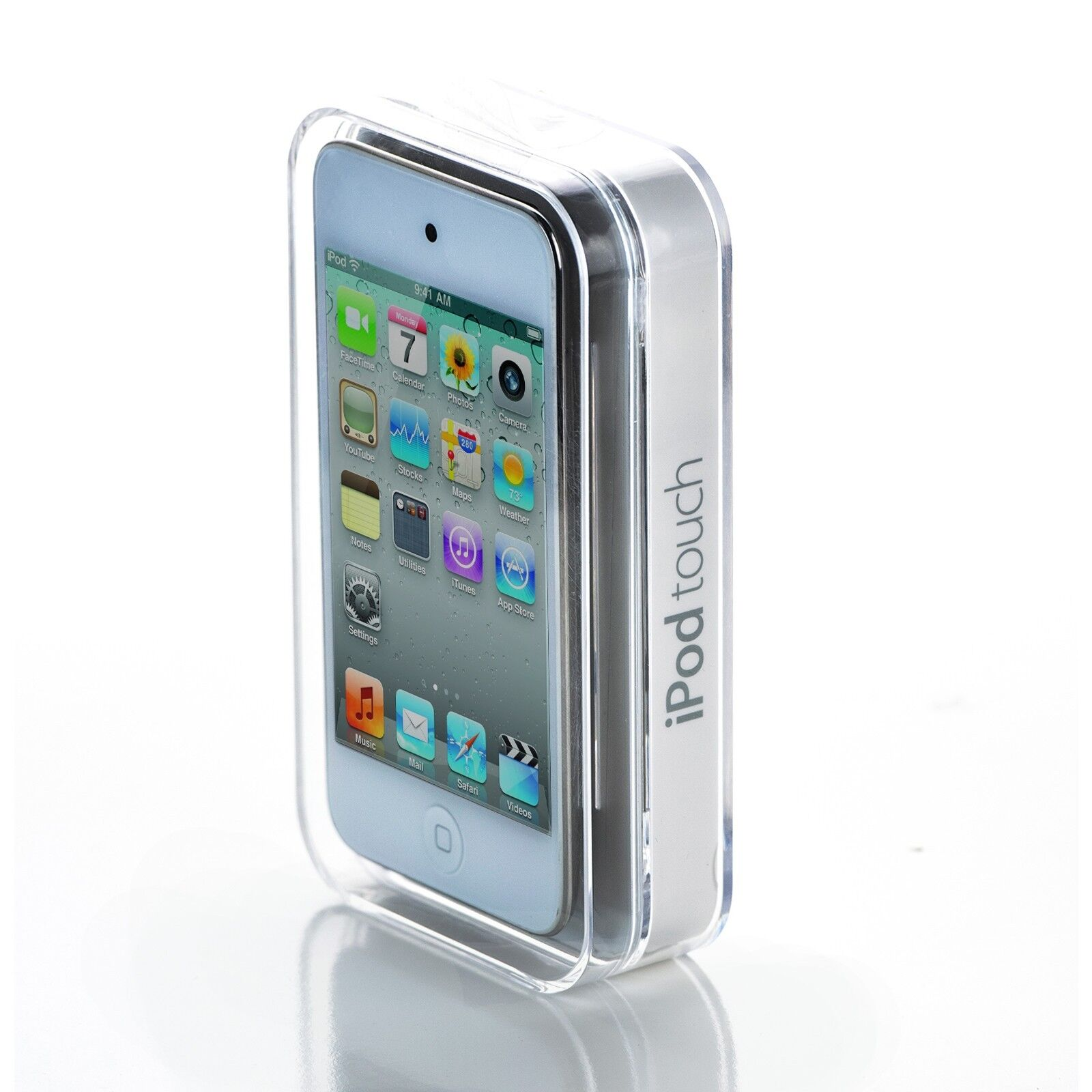 apple ipod touch 4th generation white 8 gb mp3 music. Black Bedroom Furniture Sets. Home Design Ideas