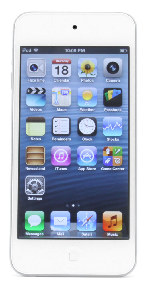 Apple iPod touch 5th Generation White Silver 64 GB Latest ...  Apple iPod touc...