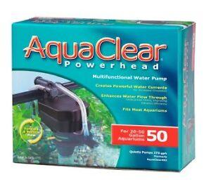 Aquarium Powerhead : Details about AquaClear 402 Aquarium Powerhead Water Pump 50 Gal A565