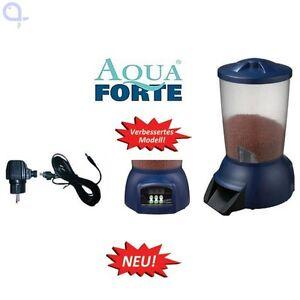 Aquaforte fishfeeder futterautomat f r teichfische ebay for Suche teichfische