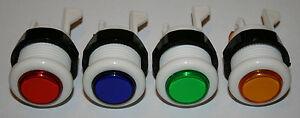 Arcade-Taster-Aktionstaster-Neu-Push-Button-Mikroschalter-Mame-Automat