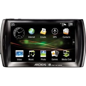 Archos 5 16GB, Wi-Fi, 4.8in - Black