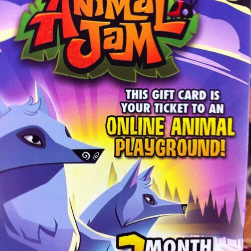 Arctic Wolf ANIMAL JAM NATIONAL GEOGRAPHIC GIFT MEMBERSHIP CARD ~ ARCTIC WOLF in Gift Cards & Coupons, Gift Cards | eBay
