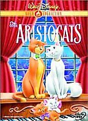 The Aristocats (DVD, 2000, Gold Collecti...