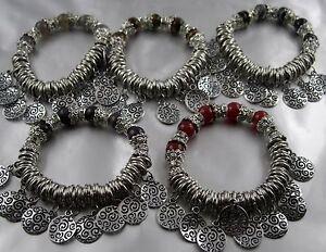armband orientalischer stil mit m nzen und echtstein perlen karneol tigerauge ebay. Black Bedroom Furniture Sets. Home Design Ideas