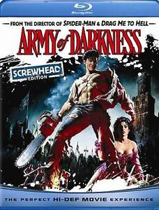 Army of Darkness (Blu-ray Disc, 2009, Sc...
