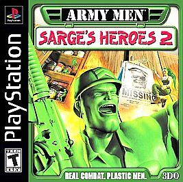 Army Men: Sarge's Heroes 2  (Sony PlaySt...