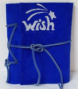 Art Diary, Writing, Travel, Pocket Journal, Diary Suede Blue Leather 6 X 4.50 in Books, Accessories, Blank Diaries & Journals | eBay