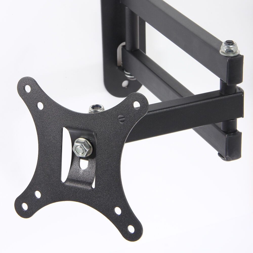 Articulating Arm Tilt Swivel LCD LED Monitor TV Wall Mount 14 15 18 19 22 23 24