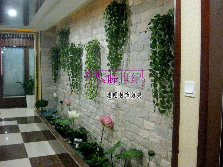 Artificial ivy leaf garland plants vine fake for Artificial flowers for home decoration online
