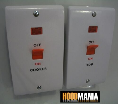 Cooker Control Unit ~ Ashley amp double pole dp cooker or hob control