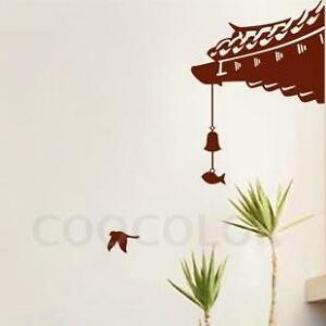 ... 】High Quality Vinyl Wall Decals wall sticker japanese architecture