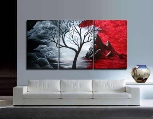 Asian style Modern Abstract Huge Art Oil Painting Canvas Large Tree in Art, Art from Dealers & Resellers, Paintings | eBay