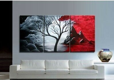 Asian style Modern Abstract Huge Art Oil Painting Canvas Large Tree (no frame) in Art, Direct from the Artist, Paintings | eBay