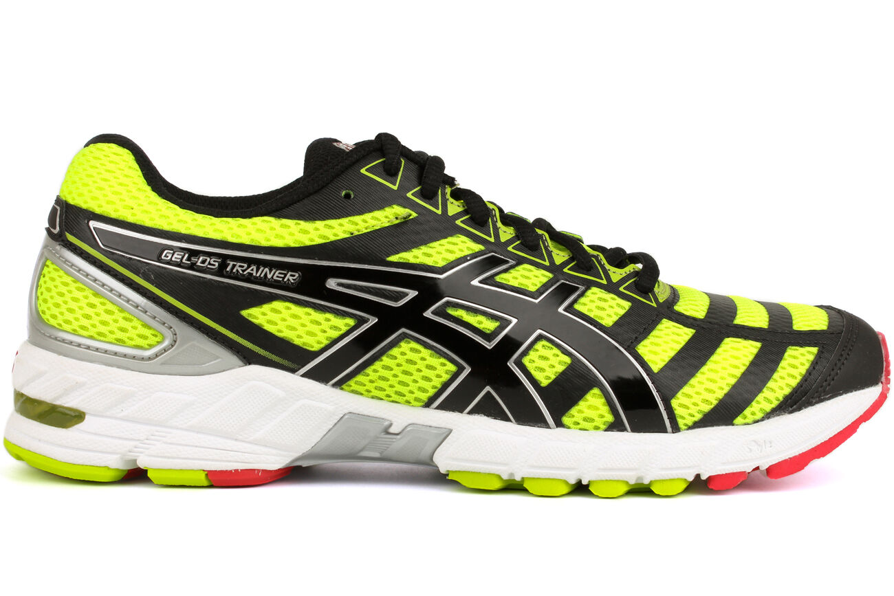 asics gel ds trainer 18 t305n 0490 new mens flash yellow. Black Bedroom Furniture Sets. Home Design Ideas