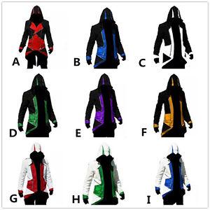 assassin 39 s creed 3 connor kenway jacke umhang hoodie. Black Bedroom Furniture Sets. Home Design Ideas