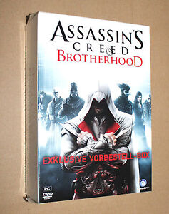 Assassin's Creed Brotherhood PC Preorder Box contains a Fleece Scarf New Sealed - Deutschland - Assassin's Creed Brotherhood PC Preorder Box contains a Fleece Scarf New Sealed - Deutschland