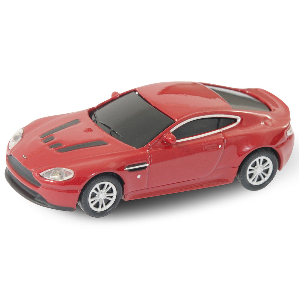 Aston Martin Vantage Car USB Flash Drive Memory Stick 8GB Red