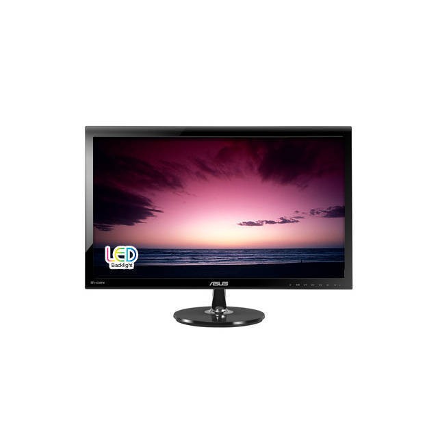 "Asus VS278Q P 27inch 27"" Widescreen 1ms VGA 2HDMI DisplayPort LED LCD Monitor"