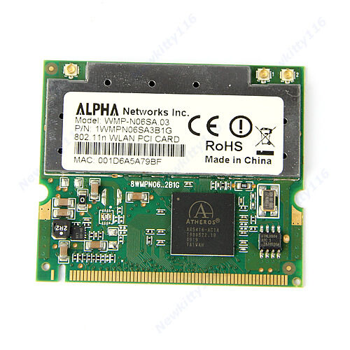 Atheros-AR5008-AR5416-Mini-PCI-ABGN-802-11N-300M-WIFI-Wireless-Card-Fr-Asus-Dell