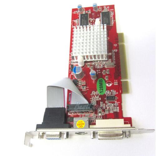 Ati Radeon 9250 128 MB 128MB PCI Desktop Video Graphics Card Vga +TvO Windows 7 in Computers/Tablets & Networking, Computer Components & Parts, Graphics, Video Cards | eBay