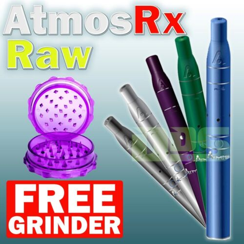 Atmos Raw Vaporizer AtmosRx Vape + FREE Grinder in: Black Blue Green Grey Purple in Consumer Electronics, Gadgets & Other Electronics, Other | eBay