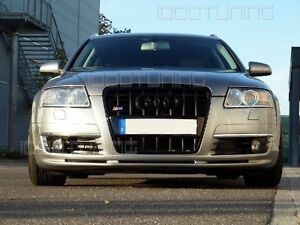 Audi-A6-C6-4F-Frontspoiler-Spoilerlippe-S-Line-S-Line-Spoiler-S6-RS6-Frontlippe