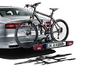 audi original fahrradtr ger klappbar f r anh ngerkupplung4h0071105 ebay. Black Bedroom Furniture Sets. Home Design Ideas