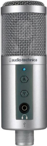 Audio-Technica ATR2500-USB Condenser USB Microphone *NEW* in Musical Instruments & Gear, Pro Audio Equipment, Microphones | eBay