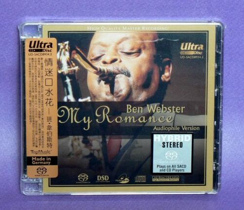 "Audiophile Version Ben Webster ""My Romance"" Stereo Hybrid DSD SACD **Brand New** in Music, Other Formats 