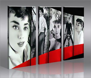 audrey hepburn my fair lady bild bilder auf leinwand wandbild poster ebay. Black Bedroom Furniture Sets. Home Design Ideas