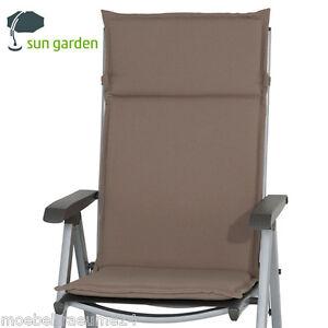auflagen f r hochlehner sessel sun garden esdo 50234 610. Black Bedroom Furniture Sets. Home Design Ideas