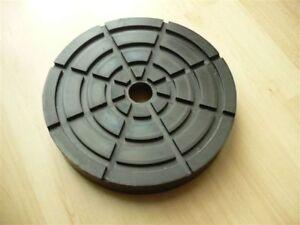 Auflageteller-Gummiauflage-Gummiteller-Auflage-Gummiaufnahme-Romeico-Buehne160x28