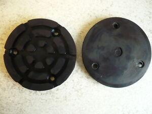 Auflageteller-Gummiauflage-Gummiteller-Auflage-Gummiaufnahme-Zippo-Buehne-120x16