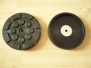 Auflageteller-Gummiauflage-Gummiteller-Auflage-Gummiaufnahme-Zippo-Buehne-126x22