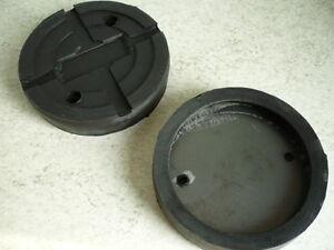 Auflageteller-Gummiauflage-Gummiteller-Auflage-IME-Autolift-2-Saeulen-Buehne-127mm