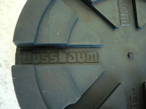 Auflageteller-Gummiteller-Gummiauflage-Vollgummiteller-Nussbaum-SLE-Buehne-125x24