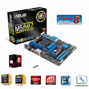 Aufruest-Kit-Bundle-AMD-Bulldozer-FX-8350-8x-4-0-GHz-ASUS-M5A97-AM3-Mainboard