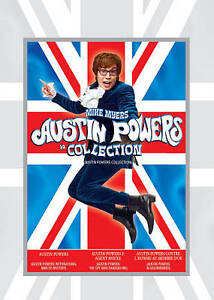 Austin Powers Collection (DVD, 2009, Can...