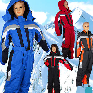 Auswahl-Gr-80-170-Skianzug-Skioverall-Schneeanzug-Schneeoverall-Winteranzug