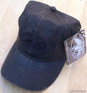 Authentic-Duck-Commander-Dynasty-Brown-Waxed-Cap-Hat-BRAND-NEW-Ships