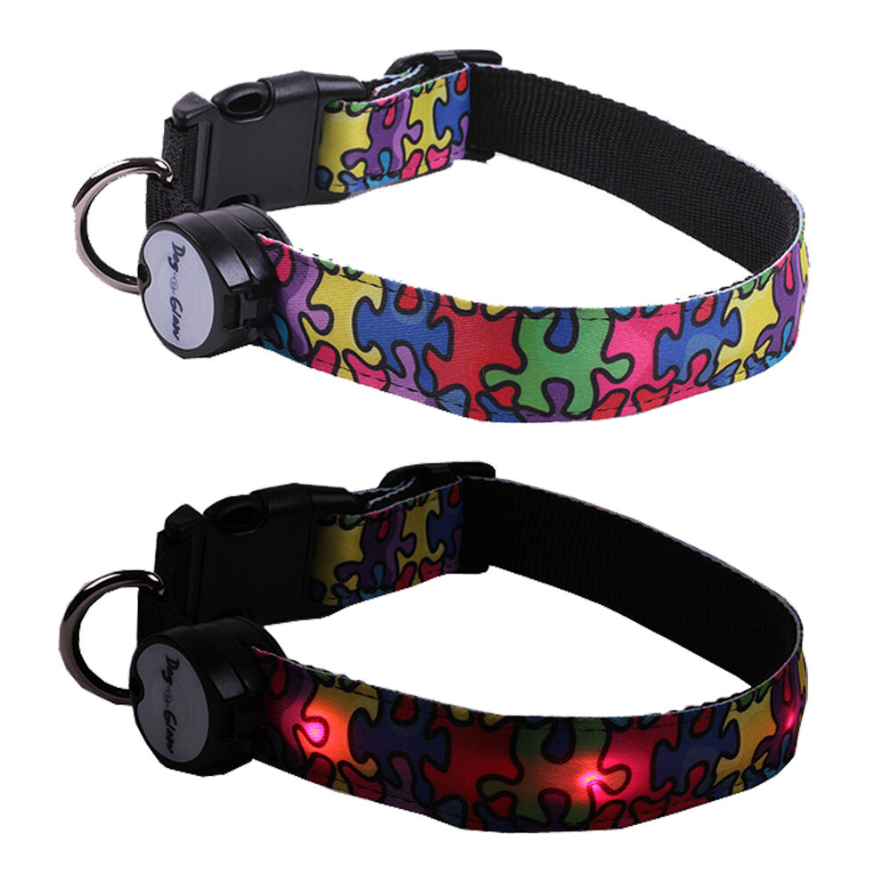 Flashing Lights On Dog Collars