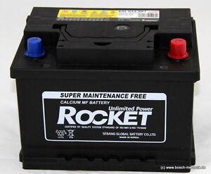 autobatterie starterbatterie rocket 12v 55ah 510ah 1920550. Black Bedroom Furniture Sets. Home Design Ideas