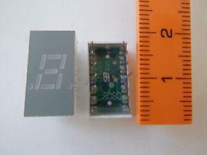 Avago-Technologies-HDSP-333G-7-Segment-Anzeige-LED-7-62mm-Hoehe-Gruen-3-Stueck