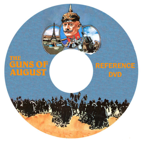 Avalon Hill The Guns of August Reference DVD 1914 World War 1 WW1 in Toys & Hobbies, Games, Board & Traditional Games | eBay