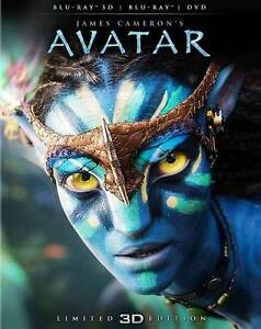 Avatar 3D (Blu-ray/DVD, 2012, 2-Disc Set, Limited Edition; 2D/3D) in DVDs & Movies, DVDs & Blu-ray Discs | eBay
